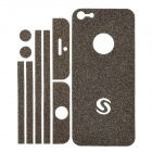 Protective Glitter Sticker Set for Iphone 5 - Black