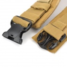 Tactical Gun Outdoor Sporting Sling Cintura - Dark Khaki