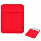 Protective Neoprene Inner Bag Pouch for Ipad / Ipad 2 / The New Ipad - Red