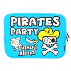 Enkay ENK-2101 Pirate Pattern Anti-Shock Sponge Schutzhülle für 13'' / 13,3'' Laptop - Light Blue