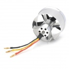 LEDF50-1A46 50mm 5-Blade Metal Ducted Fan + 4600kV Brushless Motor EDF - Black + Silver