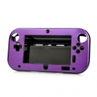 Protective Plastic + Aluminum Alloy Case for Nintendo Wii U GamePad - Purple