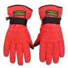 Bike Bicycle Cycling Riding Gloves for Women - Red + Black (Size M / Pair)