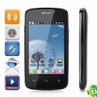 "H1 Android 2.3 GSM Bar Phone w/ 3.5"" Capacitive Screen, Dual-Band, Wi-Fi and Dual-SIM - Black"