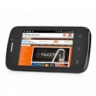 "H1 Android 2.3 GSM Bar Phone w/ 3.5"" Capacitive Screen, Dual-Band, Wi-Fi and Dual-SIM - Deep Blue"