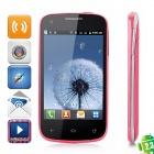 "K2 Android 2.3 GSM Bar Phone w/ 3.9"" Capacitive Screen, Dual-Band, Wi-Fi and Dual-SIM - Red"