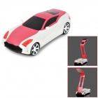 YiPinTang LJC-078 Cool Folding Car Style 1.2W 2-Mode 17-LED USB Rechargeable Table Lamp - Red