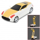 YiPinTang LJC-078 Cool Folding Car Style 1.2W 2-Mode 17-LED USB Rechargeable Table Lamp - Yellow