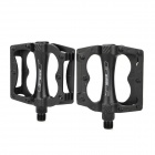 GAOTELU G328T Replacement Aluminum Alloy Bike Bicycle Pedals - Black (Pair)
