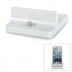 8-Pin Lightning Data / Charging Dock for iPhone 5 / iPod Touch 5 / iPad Mini / iPad 4 - White