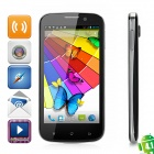 "B94M Android 4.1 WCDMA Bar Phone w/ 4.5"" Capacitive Screen, Wi-Fi, GPS and Dual-SIM - Black"