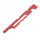Plastic Conduction Plate for AK - Wine Red