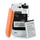 "F1658 Android 4.0 GSM Smartphone w/ 3.5"" Capacitive Screen, Quad-Band, Wi-Fi and Dual-SIM - Orange"