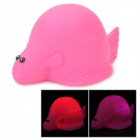 Funny Floating Sea Turtle Bath Bathing Toy w/ Light Effect - Red (1 x LR626)