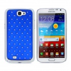 Protective Crystal PC Hard Back Case for Samsung Galaxy Note II N7100 - Royalblue