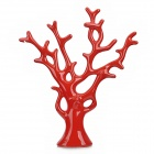 Creative Love Tree Style Ceramic Household Adornment Decoration - Red