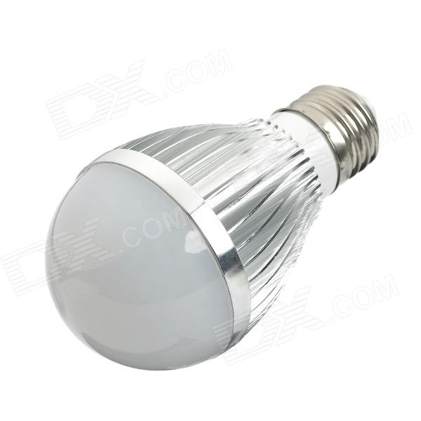 E26 7.5W 675lm 6500K White 15-SMD 5730 LED Light Bulb - Silver (85~265V)