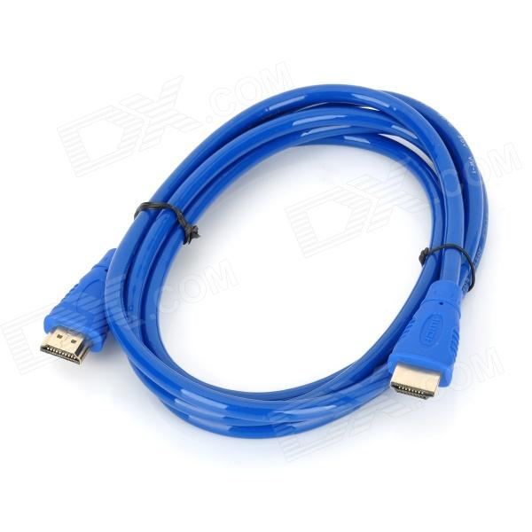 G1203 FHD 1080p HDMI V1.4 Male to Male to Connection Cable - Blue (180cm) hdmi male to female connection cable black blue