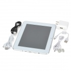 "AMPE A85 8"" Capacitive Screen Android 4.1 Dual Core Tablet PC w/ TF / Wi-Fi / Camera - Silver (8GB)"
