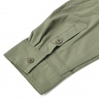 Hasky XQQ-SGY-17 Camping Hiking Quick-Dry Cloth w/ Detachable Sleeves for Men - Army Green (XXL)