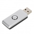 Mini Bluetooth V2.1 Audio Transmitter USB Dongle - Silver Grey + Black