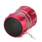 LEONA SA31 Лотос стиль Мини Music Speaker - Wine Red + Silver