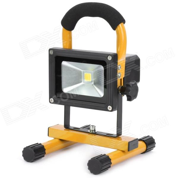 10W Outdoor Waterproof 1-LED Cold White Project Lamp