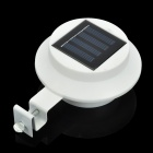 OUTLED1 5000K 60lm Water-Resistant Solar Powered 3-LED Lights - White (2 x AA)