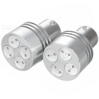 Car Bremse Yellow Light 4 LED 2W DC12V (2-Pack)