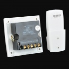 FK-923A 3-CH Family Use Digital Wireless Remote Control Switch - White + Silver