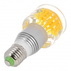 E27 180lm 3W 265V Seven Colors Light LED Artistic Lamp w/ Remote Control - Golden + Silver (85~265V)