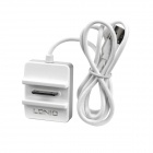Siyo USB Charging Dock + 2-Port USB 2.0 Hub for iPhone 4 / 4S - White