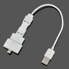 4-in-1 USB to 8-Pin Lightning / 30-Pin / Micro USB / Mini USB Charging / Data Cable for iPhone 4 / 5