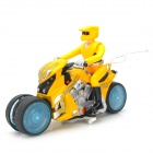 ZhengCheng 333-933B Rechargeable 4-CH Radio Control Drift Stunt R/C Car - Yellow