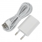 AC Power Adapter + 2m USB to 8-Pin Lightning Charging Data Cable for iPhone 5 / iPad 4 / iPad Mini