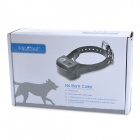 Waterproof Automatic No Anti Bark Intelligent Dog Training Shock Collar - Black