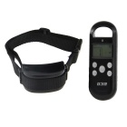 3.5&quot; LCD 4-Level Waterproof Pet Dog Behave Remote Training System Model - Black