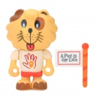 Project Singa S012 AVA Lion Figure Toy - Yellow + Red