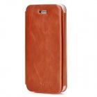 SAMDI Protective Retro PU Leather Case for Iphone 5 - Brown