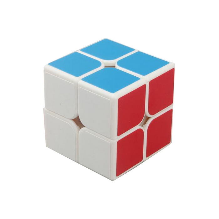 Easy 2x2x2 Brain Teaser Magic IQ Puzzle mini 3x3x3 brain teaser magic iq cube keychain