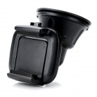 Universal 360 Degree Rotatable Suction Cup Car Holder - Black