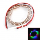 LY184 4.5W 180lm 45- SMD 1210 LED RGB Car Flexible Lamp Strip (12V / 15cm)