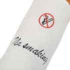 Creative Cigarette Style Short Plush + PP Cotton Pillow / Bolster - White + Brown