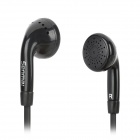 Senmai SM-E2010 Stylish Flat Cable Earphone - Black (3.5mm Plug)