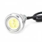 3W 150lm 6000K Eagle Eye vit LED bil dagtid Running Light (12V / 2 st)