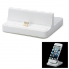 8pin Blitz Charging Dock-Station für iPhone 5 / iPad 4 / iPad Mini - White