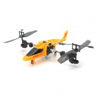 DAQIN T008 6-CH 180 Degrees Self Spinning IR Remote Control Helicopter w/ USB - Yellow