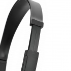 SSK EP-B002 Stylish Noise Reduction Headset Headphones - Black + Silver (3.5mm Plug / 170cm-Cable)