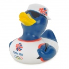 Duck Sailor Style Baby's Swimming Bathing Mate Toy - Blue + White + Yellow + Red + Black