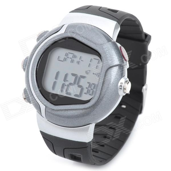 Multifunction Pulse / Heart Rate / Calorie Wrist Watch - Silver + Black Thousand Oaks Buy Ad